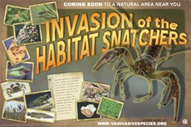habitat snatchers poster
